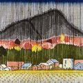 関野凖一郎「奥の細道(51) 高岡(驟雨) 」
