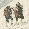 吉田博「日本アルプス十二題 針木雪溪」
