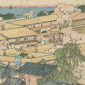 貞秀「神奈川横浜遊郭之遠景」