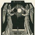 柄澤齊「日蝕の予兆或は月と太陽の婚姻」