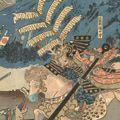 芳虎「美濃の國合戦」