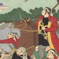 芳虎「九州陣立の図」