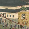 安治(探景)「東京劇場千歳座之景」