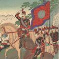延一「栃木県陸軍大演習之図」
