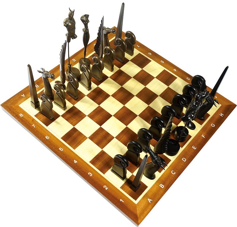 パウル・ヴンダーリッヒ「フィギュアチェスの駒」/