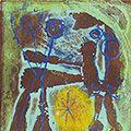 ジョアン・ミロ「詩画集『アンチ・プラトン』より #1」
