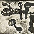 ジョアン・ミロ「詩画集『LA LUMIERE DE LA LAME』より #7」