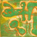 ジョアン・ミロ「詩画集『LA LUMIERE DE LA LAME』より #1」
