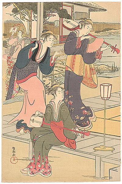 俊満「祇園一力之図【復刻版】」/