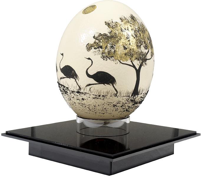 福井江太郎「駝鳥の卵」/