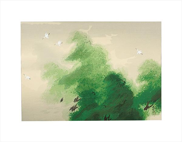 菱田春草「風」/