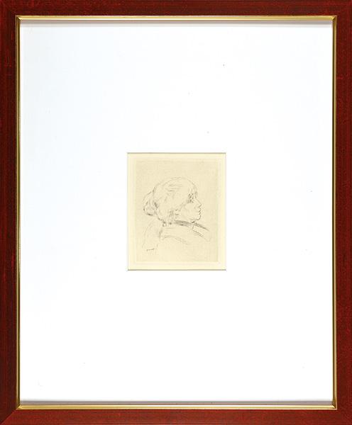 ピエール=オーギュスト・ルノワール「ベルト・モリゾの肖像」/