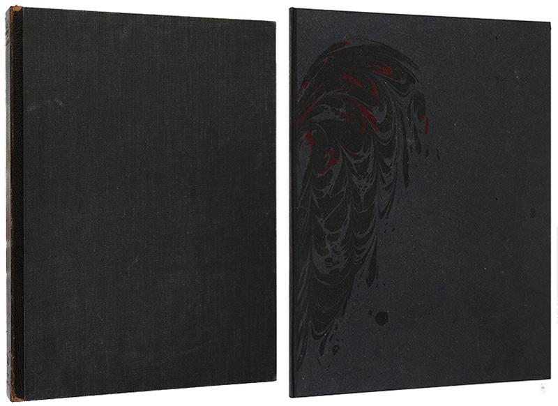 「[英]大鴉」詩:エドガー・アラン・ポー(Edgar Allan Poe)/版画:アラン・ジェームス・ロビンソン(Alan James Robinson)/