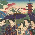 周延「金龍山浅草寺の図」