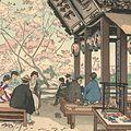 中澤弘光「三井寺の弁慶力餅」