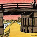 徳力富吉郎「三条大橋」
