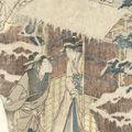 豊国初代「雪中図」