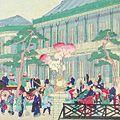 国輝二代「第一大区京橋商店煉瓦石繁栄図」