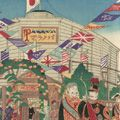 作者不詳「第三回内国勧業博覧会 日本パノラマ館(仮題)」