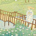 小泉癸巳男「昭和大東京百図絵 葛飾区・堀切の花菖蒲」