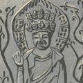 小泉癸巳男「十一面観音像 法隆寺御物銅押出併像」