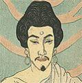石井柏亭「守田勘彌の釈迦」