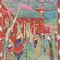 幾英「浅草観世音之桜」