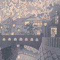 笠松紫浪「下田の街」