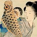 武内桂舟「木版口絵」