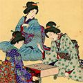 周延「女礼式茶の湯」