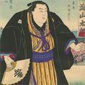 国明「相撲絵 土州 海山太郎」