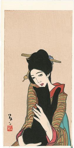竹久夢二「黒船屋」/