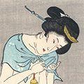国貞初代「爪切り(仮題)【復刻版】」