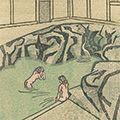 前川千帆「『続続版画浴泉譜』より」