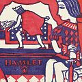 川西英「ハムレット」