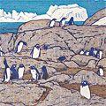 吉田遠志「ゼントウペンギン」
