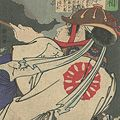 芳年「魁題百撰相 薄田隼人」