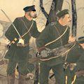 年英「日露交戦紀聞 三月廿八日定州ニ於テ・・・」