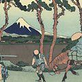北斎「富嶽三十六景 東海道程ヶ谷【復刻版】」